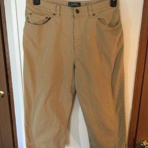 Lauren Ralph Lauren Size 12P (30x19) Capris Pants